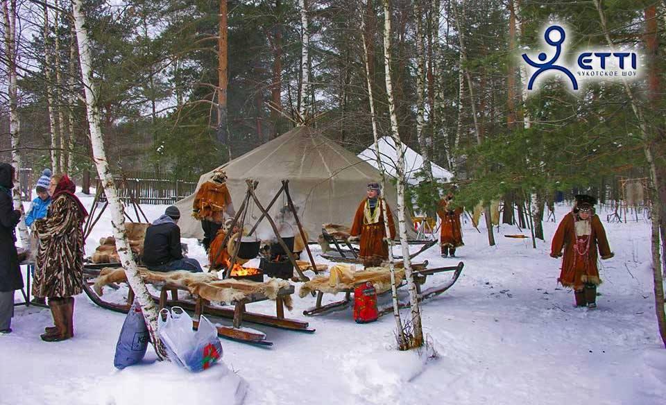Чукотские Новогодние каникулы в «Трогательном зоопарке оленей»